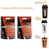 Protein Complex 1800g Kit 2 Unidades Sabores New Millen