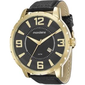 Relógio Mondaine Análogo Social Pulseira Couro 94819gpmvdh2
