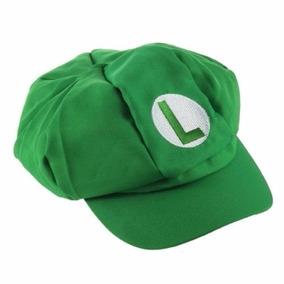Boina Chapéu Luigi Mario Bros