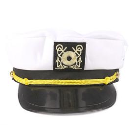 Chapéu Marinheiro Quepe Cap Capitão Fantasia Adulto - Kits Festa no ... cf553d4b405