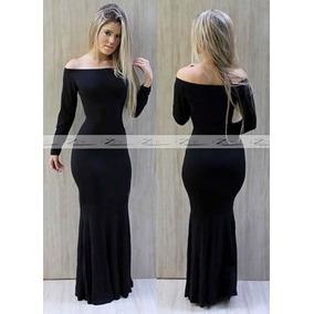 b0a4b8dbd Vestido Ciganinha Sereia Inverno - Vestidos Casuais Longos Femininas no  Mercado Livre Brasil