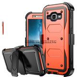 Samsung Galaxy Sm-j120a - #orange - Resistente Resisten-8946