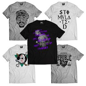 Kit 3 Camisetas   Frete Grátis   Camisas Masculinas Atacado afc5f3dd61e