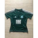 42644d1b6d Camisa Oficial Dudu Palmeiras Com Patrocinio - Futebol no Mercado ...
