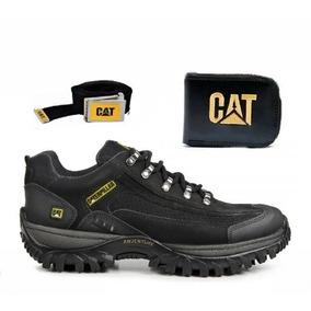 9eec40c49e Coturno Bota Tenis Caterpillar Adventure Original + Kit Cat