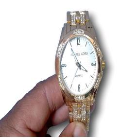 031e78537e3 Relogio Feminino Dourado Barato Mk - Relógios De Pulso no Mercado ...