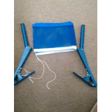 Gancho Con Red Para Mesa De Ping Pong Azul