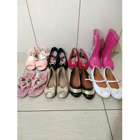 7e9f0d03bc7 Lotes De Sapatos Infantil Usados - Sapatos