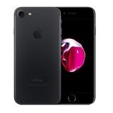 iPhone 7 Preto Matte, 32gb, Caixa E Acessórios Originais.
