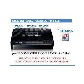 Modem Tp Link 8616 Completamente Compatible Con Cantv