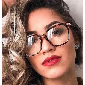 b0179a4cc Oculos De Grau Feminino Parafusado - Óculos Marrom claro no Mercado ...