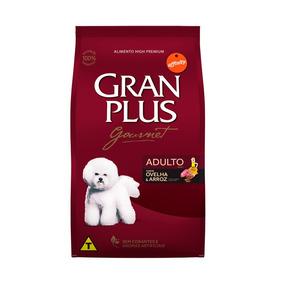 Ração Granplus Gourmet Para Cães Sabor Ovelha E Arroz - 15kg