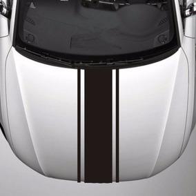 Faixa Adesiva Para Capô Do Carro Tuning Personalizada 3linha
