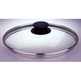 Tampas De Vidro 28 - Com Puxador Encaixe 27,5cm Diâmetro