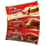 6 Barras Chocolate Harald Confeiteiro 1kg Sabores