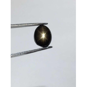 Zafiro Negro Estrella 2.56ct. 6 Rayos.