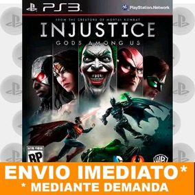Ps3 Injustice Gods Among Us Ultimate Edition Psn Digital