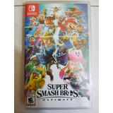 Super Smash Bros Ultimate - Nintendo Switch - Nuevo Sellado
