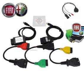 Kit Scanner Alfa Fiat Ecu Scan Kkl 409.1 + 4 Cabos Adaptador