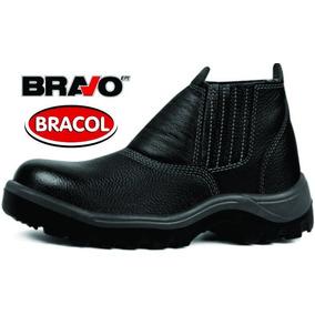 38d324f9c45f0 Bico Pvc Bravo Bracol Sapato Elástico Preto Bidens. C - Sapatos no ...