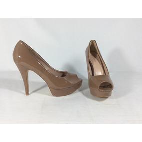 Zapato Taco Alto Color Nude - Zapatos de Mujer en Mercado Libre ... f12f7e8d92a5