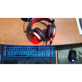 Combo Auriculares, Mouse, Teclado Y Mouse Pad
