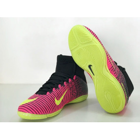 Tenis De Futsal Nike Botinha Rosa - Tênis no Mercado Livre Brasil ec1f67ea0f520