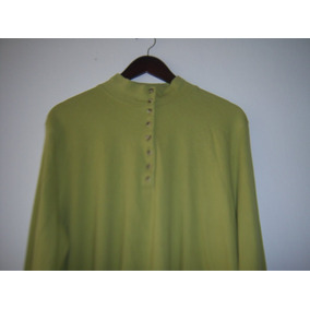 Blusa Para Dama Appleseed`s Color Verde Limòn T- Xxl M/l