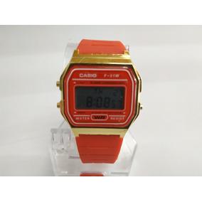 Reloj Casio Rojo