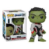 Funko Pop Hulk #451 Avengers Endgame Bruce Banner En Stock