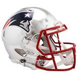 Casco Cromado Profesional Riddell Nfl New England Patriots
