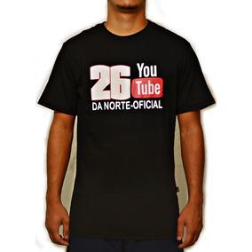 68c16b2220 Camiseta Preta Da 26 Da Norte - Camisetas e Blusas Manga Curta para ...
