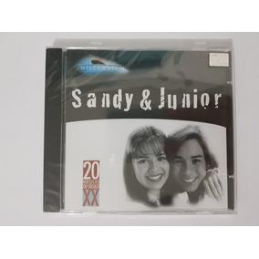 Cd Sandy E Junior Millennium Lacrado