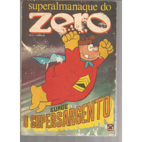 Superalmanaque Do Zero 4 - Rge 04 - Bonellihq Cx08 B19