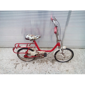 Vendo Rara Bicicleta Monark Aro 14 No Estado.