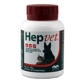 Hepvet Vetnil Para Cães E Gatos 30 Comprimidos - 25/04/2019