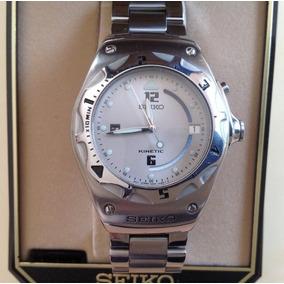4fa7be68ebf Relogio Seiko Kinetic Antigo - Relógios no Mercado Livre Brasil