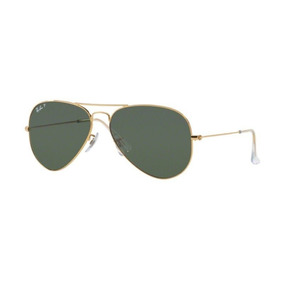 58 62mm Polarizado Ray Ban Aviator Rb3025 002 De Sol - Óculos no ... f21f785c2e