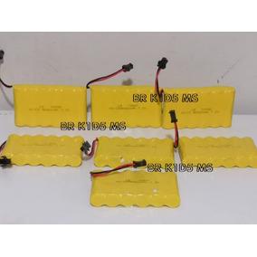 Bateria 6v 400mah Ni-cd Diversos Carrinhos Plug Smp 02