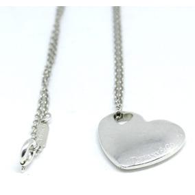 f7736b8352d9 Collar Tiffany - Collares y Cadenas Plata Sin Piedras en Mercado ...