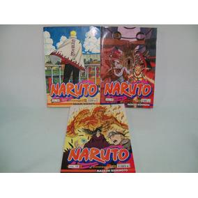 Gibis Naruto Pocket - Volumes 57/58/72 Masashi Kishimoto