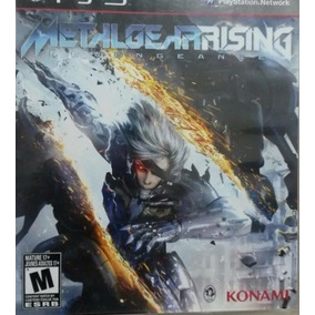 Metal Gear Rising Revengeance Para Ps3 Usado Envio Imediato
