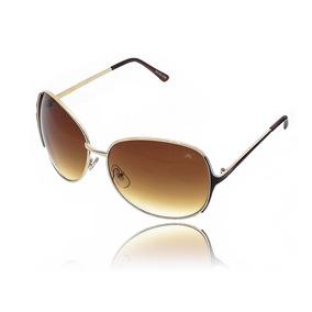f07fcb8dda25f Oculos Detalhe Dourado De Sol - Óculos no Mercado Livre Brasil