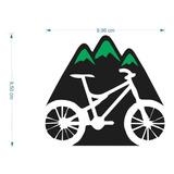 Adesivo Bicicleta 10cmx15cm Ciclismo Mountain Bike Pedal