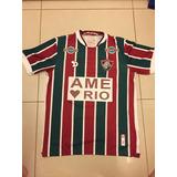 493873a31a96b Camisa Fluminense Ame O Rio - Futebol no Mercado Livre Brasil