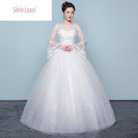 Vestido De Noivas 136102 Casamento Debutante Extra Grande