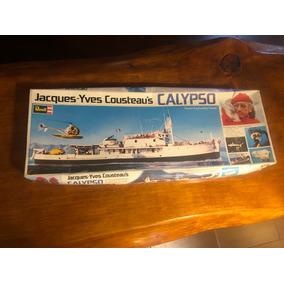 Maqueta Revell Barco Calypso Jacques-yves Cousteau´s 1/125