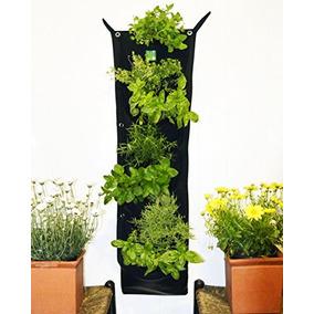 7 Bolsillo Impermeable Indoor Vertical Plantador