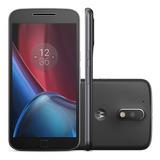 * Grátis Brindes * Motorola Moto G4 Plus 32gb Xt1640 Vitrine