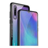 Mica + Funda Case Lujo Huawei Mate 20 P20 P30 Y7 Y9 Nova 3 4